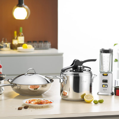 Kitchen and hollowware applications
