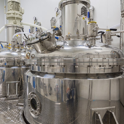 Processing and storage tanks & vessels, pumps, pipelines and tubes, taps and valves