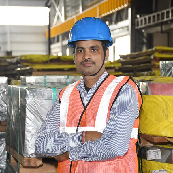 Steering the Steelway Warehouse- Mr Dilip Das